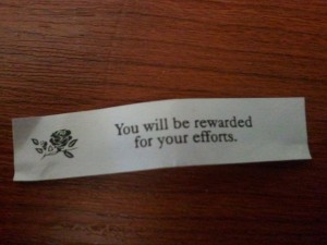 Spiritual LIfe Coach loves fortune cookies